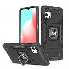 Dėklas Wozinsky Ring Armor Case Kickstand Samsung Galaxy A32 4G Juodas