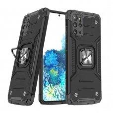 Dėklas Wozinsky Ring Armor Case Kickstand Tough Rugged Samsung Galaxy S20+ (S20 Plus) Juodas