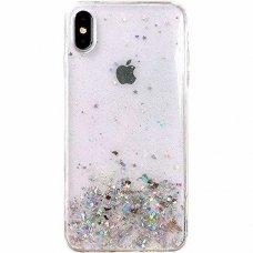 Blizgus Tpu Dėklas Wozinsky Star Glitter Iphone Xr Permatomas