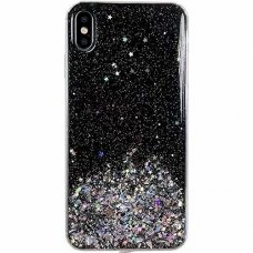 "Blizgus Tpu Dėklas ""Wozinsky Star Glitter"" Iphone Xs / Iphone X Juodas"