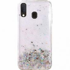"""Blizgus Tpu Dėklas """"Wozinsky Star Glitter"""" Samsung Galaxy A20E Skaidrus"""