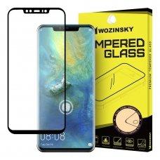 """Apsauginis Pilnai Dengiants Stiklas """"Wozinsky Tempered Glass 5D Full Glue """" Huawei Mate 20 Pro Juodas"""