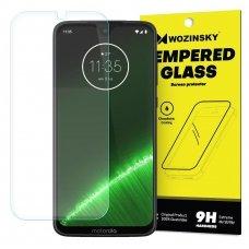 """Apsauginis Stiklas """"Wozinsky 9H Pro+"""" Iki Išlenkimo Motorola Moto G7 Plus / G7 8"""