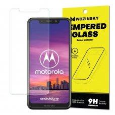 """Apsauginis Stiklas """"Wozinsky 9H Pro+"""" Iki Išlenkimo Motorola One 8"""