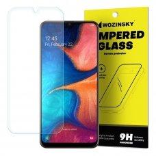 """Apsauginis Stiklas """"Wozinsky 9H Pro+"""" Iki Išlenkimo Samsung Galaxy A20E"""