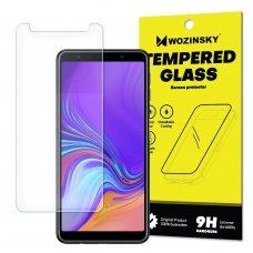 """Apsauginis Stiklas """"Wozinsky 9H Pro+"""" Iki Išlenkimo Samsung Galaxy A7 2018 A750"""