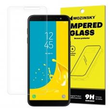 """Apsauginis Stiklas """"Wozinsky 9H Pro+"""" Iki Išlenkimo Samsung Galaxy J6 2018 J600"""