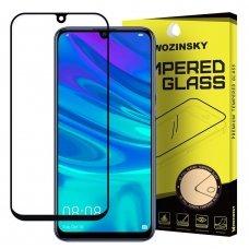 Wozinsky Full Glue Grūdintas Apsauginis Stiklas Huawei P Smart Plus 2019 / P Smart 2019 Juodais Kraštais