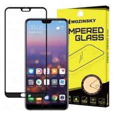 """Apsauginis Stiklas Visam Ekranui """"Wozinsky Full Glue Super Tough"""" Huawei P20 Pro Juodas"""
