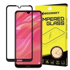 """Apsauginis Stiklas Visam Ekranui """"Wozinsky Full Glue Super Tough"""" Huawei Y7 2019 / Y7 Pro 2019 / Y7 Prime 2019 Juodais Kraštais"""
