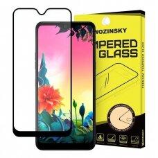 """Grūdintas Apsauginis Stiklas """"Wozinsky Pro+ 5D Full Glue""""  Lg K50S Juodais Kraštais"""