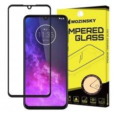 """Apsauginis Stiklas Visam Ekranui """"Wozinsky Full Glue Super Tough"""" Motorola One Zoom Juodas 8"""