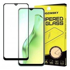 Wozinsky Tvirtas, Apsauginis Grūdintas Ekrano Stiklas Full Glue Oppo Samsung Galaxy A31 Juodais Kraštais