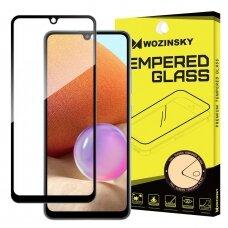 Wozinsky Tempered Glass Full Glue apsauginis pilnai dengiantis stiklas Samsung Galaxy A32 4G Juodais kraštais