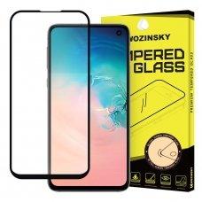 "Apsauginis Stiklas Visam Ekranui ""Wozinsky Full Glue Super Tough"" Samsung Galaxy S10E Juodas"