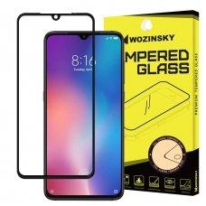 """Apsauginis Stiklas Visam Ekranui """"Wozinsky Full Glue Super Tough"""" Xiaomi Mi 9 Juodais Kraštais"""