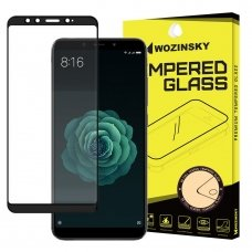"Apsauginis Stiklas Visam Ekranui ""Wozinsky Full Glue Super Tough"" Xiaomi Mi A2 / Mi 6X Juodas"