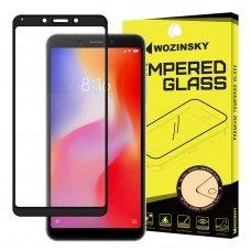 "Apsauginis Stiklas Visam Ekranui ""Wozinsky Full Glue Super Tough"" Xiaomi Redmi 6 Juodas"