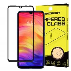 "Apsauginis Stiklas Visam Ekranui ""Wozinsky Full Glue Super Tough"" Xiaomi Redmi 7 Juodais Kraštais"