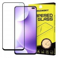 "GRŪDINTAS APSAUGINIS STIKLAS ""WOZINSKY PRO+ 5D FULL GLUE""  Xiaomi mi K30 juodas (ctz011)"