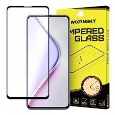 Wozinsky Full Glue Pilnai Ekraną Dengiantis Apsauginis Grūdintas Stiklas Xiaomi Redmi K30 Pro / Poco F2 Pro Juodais Kraštais