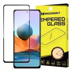 Stiklas Wozinsky Tempered Glass Full Glue Super Tough Screen Protector  Xiaomi Redmi K40 Pro+ / K40 Pro / K40 / Poco F3 Juodas