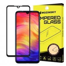 "Apsauginis Stiklas Visam Ekranui ""Wozinsky Full Glue Super Tough"" Xiaomi Redmi Note 7 Juodas"