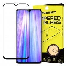 "Apsauginis Stiklas Visam Ekranui ""Wozinsky Full Glue Super Tough"" Xiaomi Redmi Note 8 Pro Juodais Kraštais 6"