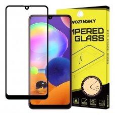 Wozinsky Tvirtas, Apsauginis Grūdintas Ekrano Stiklas Full Glue  Samsung Galaxy A31 Juodais Kraštais