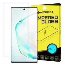 WOZINSKYTempered GLASS UV SCREEN PROTECTOR 9H FOR SAMSUNG GALAXY NOTE 10 (IN-DISPLAY FINGERPRINT SENSOR FRIENDLY) - WITHOUT GLUE ir LED LAMP VT82 (ctz014) UCS021