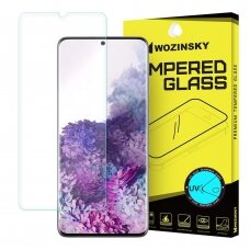 Wozinskytempered Glass Uv Screen Protector 9H skirta Samsung Galaxy S20 Plus (In-Display Fingerprint Sensor Friendly) - Without Glue Ir Led Lamp