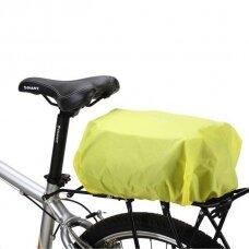 Wozinsky Universal Waterproof Rain Cover skirta Bike Pannier Bag Or Backpack Green (Wbb5Yw)
