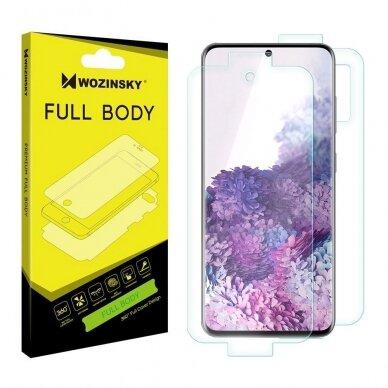Wozinsky Full Body Self-Repair 360° Full Coverage Screen Protector Film skirta Samsung Galaxy S20