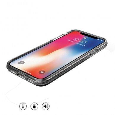 Dėklas Wozinsky Star Glitter Shining Samsung Galaxy S21+ 5G (S21 Plus 5G) Permatomas 4