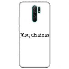 Xiaomi Redmi 9 TPU dėklas nugarėlė su jūsų dizainu. Dėklas gaminamas su jūsų pateikta nuotrauka